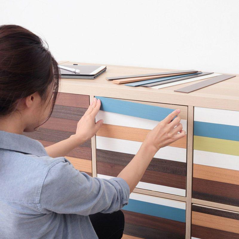 壁にも家具にも小物にも色々なところに貼り付けOK