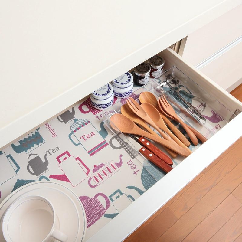 キッチン/あたたかみのある不織布素材