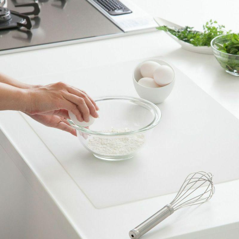 調理器具が滑りにくく調理の効率アップ