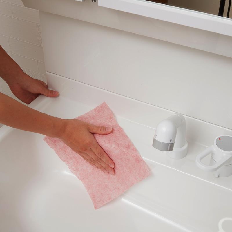 【お掃除編】1.洗面台