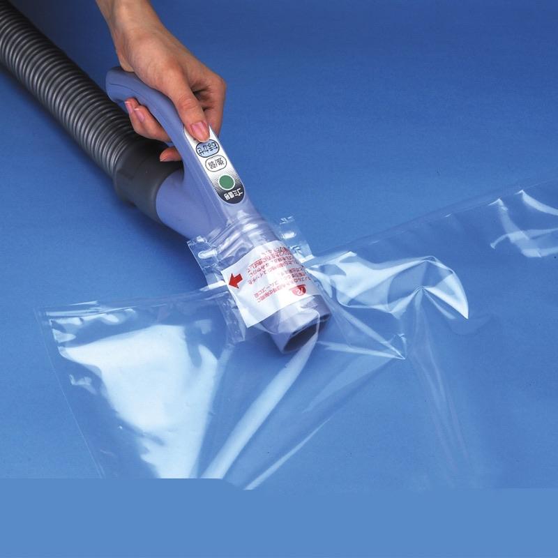 掃除機を取り出すと自然に閉じる逆止弁採用