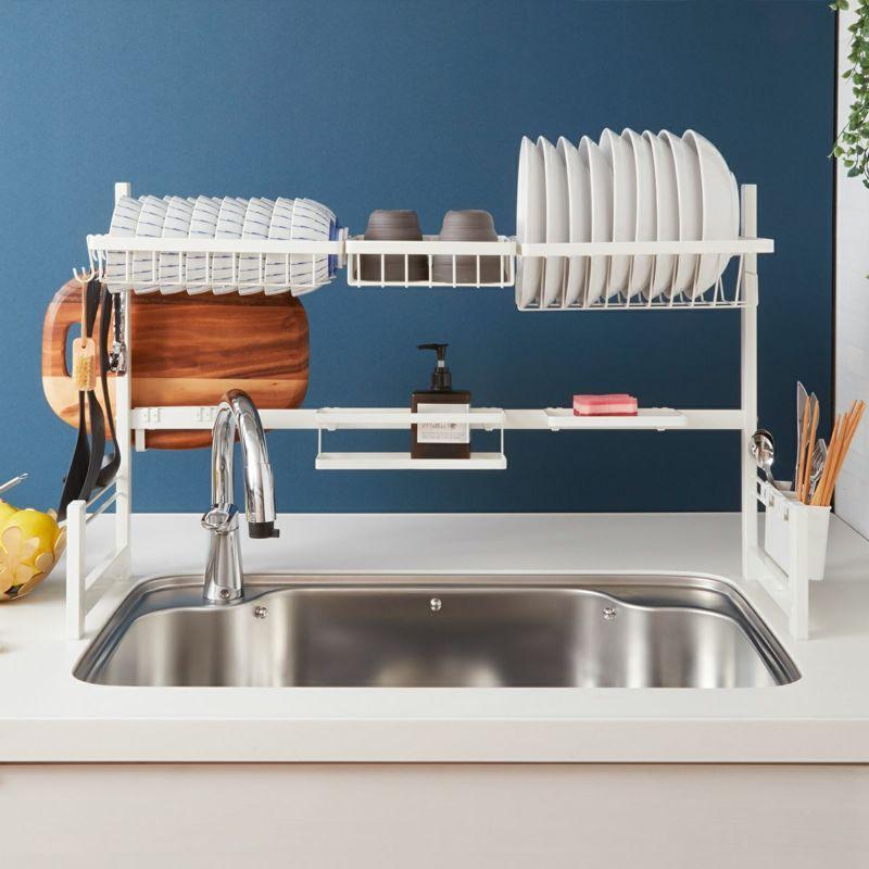 見た目スリムで大容量。キッチンすっきり。(※画像はLサイズ)