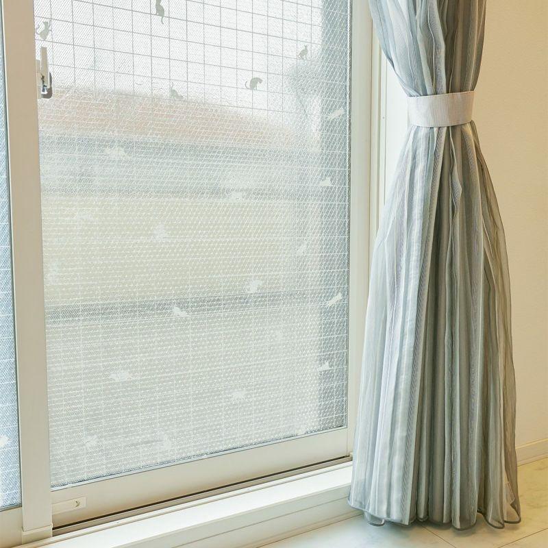 窓ガラスに貼ることで断熱、結露対策、UVカット。