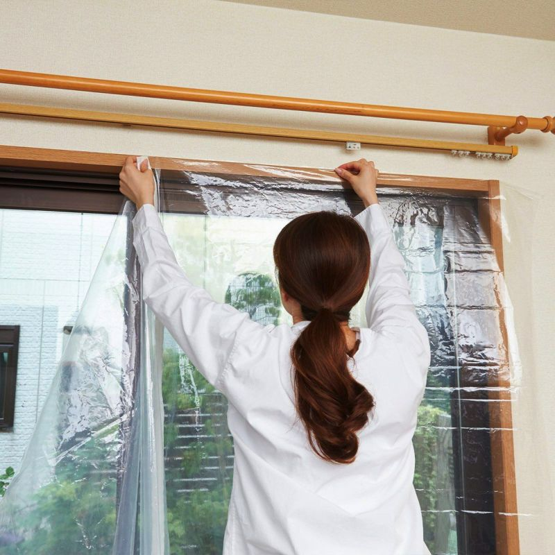窓ガラスの種類を選ばす、幅広い窓ガラスに使用OK