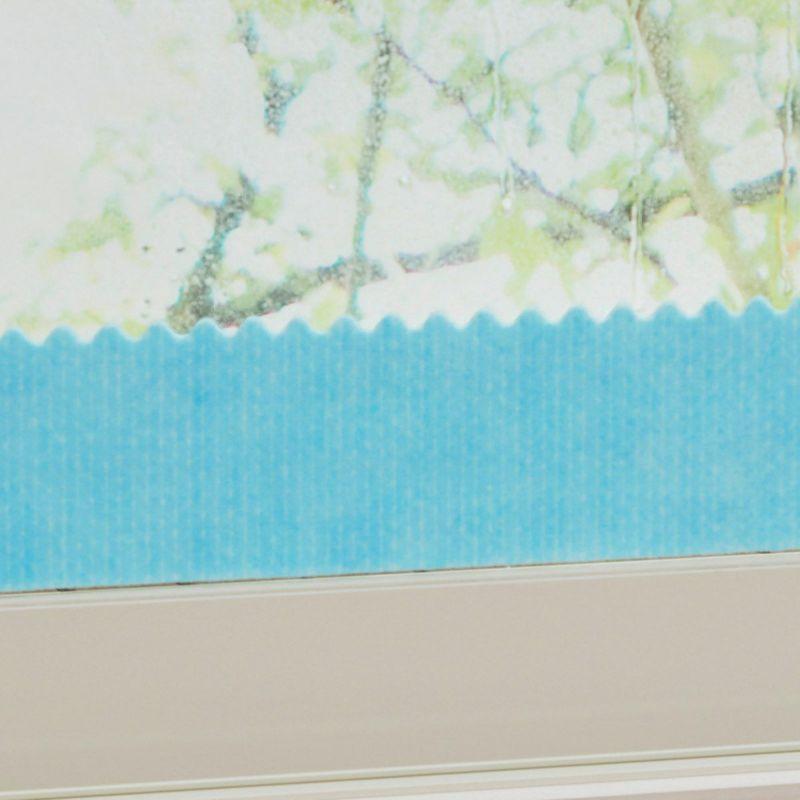 波型カットで表面積を増やし、結露をすばやくキャッチ。
