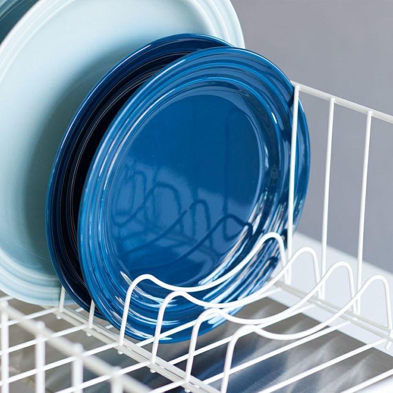 取り外し可能なディッシュスタンド付きでお皿が倒れるストレスから卒業。
